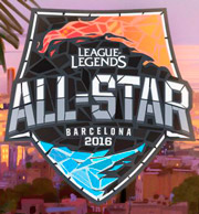 All-Star 2016 Barcelona - League of Legends Logo