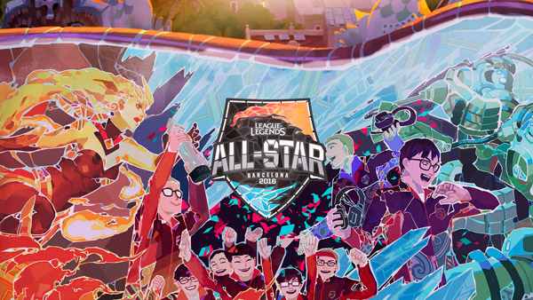 All-Star 2016 League of Legends - Barcelona