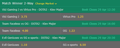 Dota-2-Betting-Odds-Kiev-Major-2017-Quarterfinals-at-Bet365