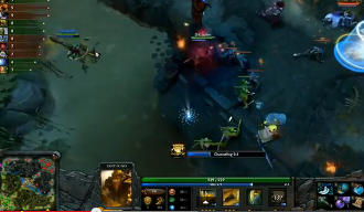 Dota 2 in Game screenshot