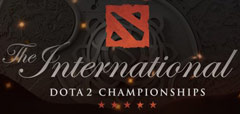 Dota2 TI6 the international logo