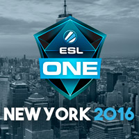 ESL One New York 2016 - Logo