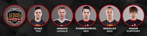 EU LCS All Star Players