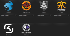 LCS EU Playoffs 2014 Teams