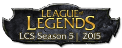 Logo LCS Season 5 | 2015 - League of Legends