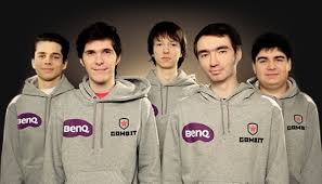 EU Team Gambit Gaming alle 5 Team Member