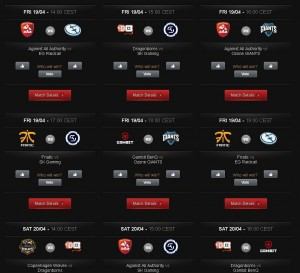 LoL LCS Woche 10 Matches