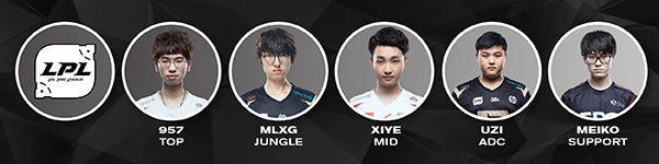 LPL All Star Players