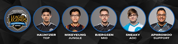 NA LCS All Star Players