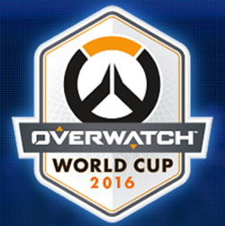 Overwatch World Cup 2016 Logo