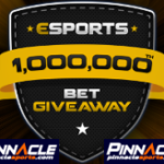 Pinnacle 1million esport wetten Promo