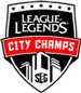 Super League City Champs Logo