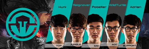 Team Immortals Kader LCS NA 2016 Summer Split alle Spieler