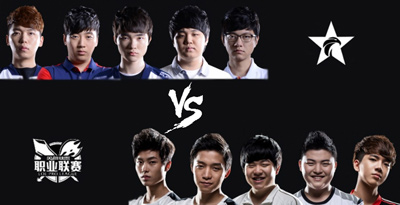 Team LCK vs LPL AllStar 2015
