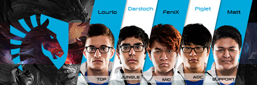 Team Liquid Kader LCS NA 2016 Summer Split alle Spieler