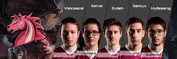 Team Unicorns of Love EU LCS Fruehjahrssaison 2017