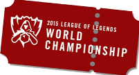 Ticket Button - League of Legends Weltmeisterschaft 2015