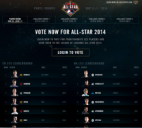all-star voting screenshot