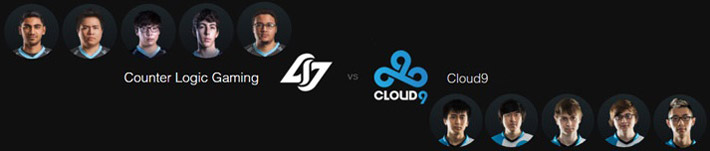 clg vs c9 LCS Spring Split 2016 Week 2