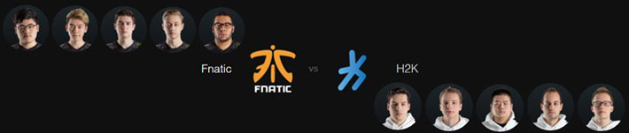 fnatc vs h2k LCS Spring Split 2016 Week 2
