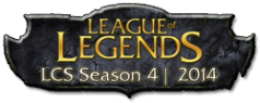 Logo der LCS Season 2014 - LoL 4