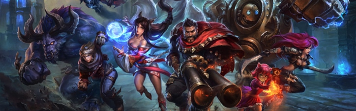League of Legends - LoL Page Banner