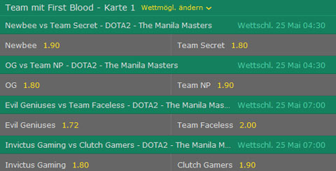 manila masters 2017 dota2 bet365 team mit first blood wettquoten