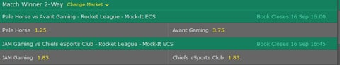 rocket league mock it ecs wettquoten match winner bet365