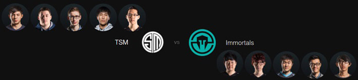 tsm vs immortals LCS Spring Split 2016 Week 2